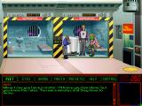 Space Quest 6: Roger Wilco in the Spinal Frontier Windows 3.x Meeting in jail