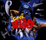 Super Star Wars SNES Title screen.