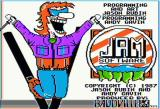 Ski Crazed Apple II Title screen
