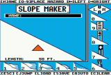 Ski Crazed Apple II Make your own slopes