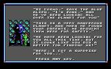 Cosmo's Cosmic Adventure: Forbidden Planet DOS Episode 3 ending - wait, you mean my parents were safe? So maybe I should have waited next to the spaceship instead of playing the whole game?...