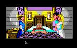 King's Quest IV: The Perils of Rosella Apple IIgs Introduction: King Graham on his sick bed.
