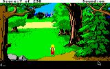 King's Quest IV: The Perils of Rosella Apple IIgs Woods.