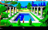 King's Quest IV: The Perils of Rosella Apple IIgs Fancy pool.
