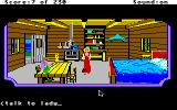 King's Quest IV: The Perils of Rosella Apple IIgs Inside the fisherman's house.