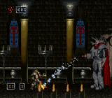 Doom Troopers: Mutant Chronicles SNES Nero boss, with missile launcher