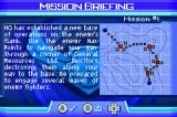 Ace Combat Advance Game Boy Advance Mission briefing