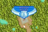 Ace Combat Advance Game Boy Advance Mission failed