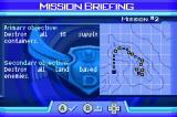 Ace Combat Advance Game Boy Advance Briefing for mission 2