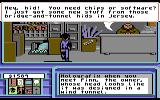 Neuromancer Commodore 64 Finn's shop.