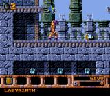 Gods SNES Labyrinth level. I just bought a familiar, which automatically attacks enemies in sight.