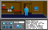 Neuromancer Apple IIgs The Matrix Restaurant.