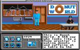 Neuromancer Apple IIgs Donut world which is a cop hangout.
