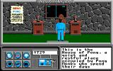 Neuromancer Apple IIgs The House of Pong home to a bunch of weirdos who worship an ancient video game.