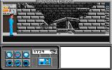 Neuromancer Apple IIgs Looks like someone shouldn't have played with gasoline and matches...