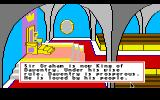 King's Quest II: Romancing the Throne Apple IIgs Intro: Sir Graham is now King Graham... And don't you forget it, punk!