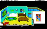 King's Quest II: Romancing the Throne Apple IIgs Inside grandma's house.