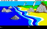 King's Quest II: Romancing the Throne Apple IIgs More sea shore.