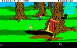 King's Quest II: Romancing the Throne Apple IIgs Look out for the dwarf - he'll steal your treasures!