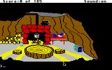 King's Quest II: Romancing the Throne Apple IIgs The dwarf's house.
