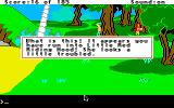 King's Quest II: Romancing the Throne Apple IIgs Little Red Riding Hood.