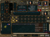 Beyond Divinity Windows Skill development screen. Note the detailed options for advancement