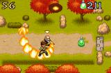 Avatar: The Last Airbender - The Burning Earth Game Boy Advance Iroh's primary attack is a stream of fire