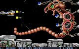 R-Type Atari ST An end of level boss