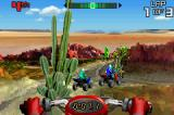 ATV: Thunder Ridge Riders Game Boy Advance The race starts