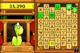 Bookworm Deluxe Game Boy Advance The green tiles award a lot more points than other tiles