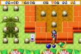 Bomberman Max 2: Blue Advance Game Boy Advance This worm can consume your bomb !