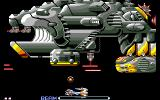 R-Type Amiga Battling a very large spacecraft
