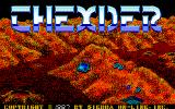 Thexder Amiga Title screen