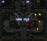 Aero Fighters SNES Game over
