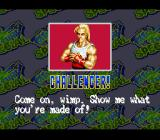 Fatal Fury Special SNES New challenger