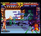 Fatal Fury Special SNES Come here and kiss my foot!