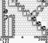Gauntlet II Game Boy This monk is extremely hard to kill