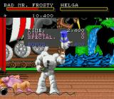 Clay Fighter Genesis Frosty wins