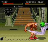 Clay Fighter Genesis Good ghostly kick