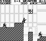 Batman: The Video Game Game Boy On the edge