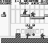 Batman: The Video Game Game Boy Easy target