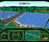 AH-3: ThunderStrike SEGA CD Targeting a Bridge