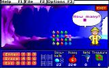 Treasure MathStorm! DOS In the crystal caves (MCGA/VGA)