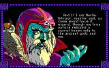 Conquests of Camelot: The Search for the Grail DOS Merlin introduces himself