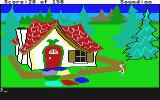 King's Quest Atari ST The gingerbread house