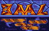 Baal Atari ST Title screen