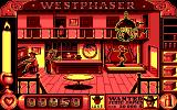 West Phaser DOS Shoot that sneaky thief for bonuses (EGA)