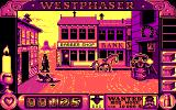 West Phaser DOS Knocked a cowboy off his horse (EGA)