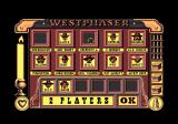 West Phaser Amstrad CPC Choose a character for each player - up to 6