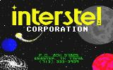 Star Fleet I: The War Begins! Atari ST Interstel title screen
